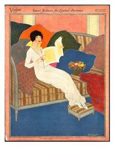 Vogue February 1913 by Helen Dryden