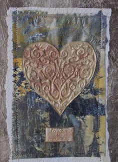 """Check out Rebekah Meier's book, """"More Fabric Art Collage."""""""