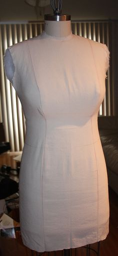 Padding a too small dress form to fit your shape