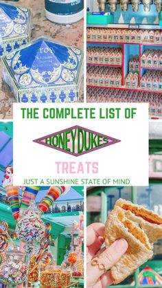 Harry Potter Candy, Deco Harry Potter, Harry Potter Classroom, Harry Potter Food, Harry Potter Birthday, Disney Universal Studios, Universal Orlando, Every Flavor Beans, Anniversaire Harry Potter