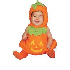 Baby Kürbis Kostümset für Babys im Alter von 6-12 Monaten | Kürbiskostüm für Kleinkinder | Babykostüm Kürbis für Halloween oder Karneval | *werbung
