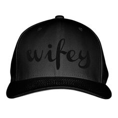 Wifey Embroidered Baseball Cap