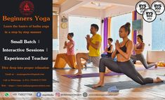 New to yoga? Then this course for you! Master in basic hatha yoga postures (asanas)  Learn simple breathing techniques (pranayama)  Dive deep into proper relaxation  Uplift your life with physical, mental and spiritual health  Classes morning & evening to suit your schedule.  #yoga #onlineyoga #yogatraining #beginnersyoga #hathayoga #yogatrainingforall #yogaschool #bestyogaschool #rishikesh #india #AYMYogaSchool