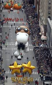 Macy's Thanksgiving parade dazzles NYC, Great fun!
