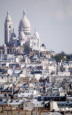 Sacré-Coeur, Paris.