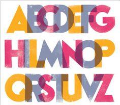 Mancha tipográfica cabarettypographie