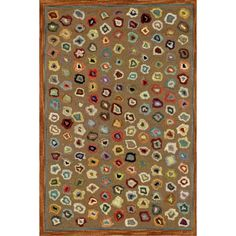 Cat's Paw Woollen Rug Brown ($145) ❤ liked on Polyvore featuring home, rugs, contemporary rugs, contemporary modern area rugs, coloured rug, modern contemporary rugs and colored rugs