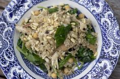 Brown Rice Pilaf with Chicken and Chick Peas