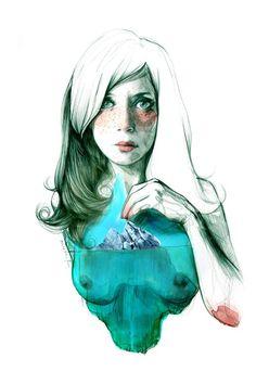 Paula Bonet. Dona iceberg, 2013. Imagen cortesía de AECID.