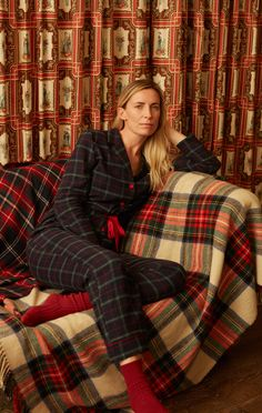 New homewear items for Christmas. Pijamas Victoria Secret, Victoria Secret Pajamas, Bikinis, Swimsuits, Tartan, Plaid, Summer Sale, Pyjamas, Spring Summer Fashion