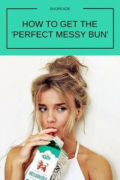 How to get the absolutely perfect messy bun and master this chic look. Messy Bun Hairstyles, Pretty Hairstyles, Summer Hairstyles, Simple Hairstyles, Curly Hair Styles, Natural Hair Styles, Hair Skin Nails, Hair Today, Gorgeous Hair