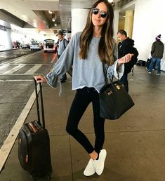 be49fcfface Stunning 48 Well Travel Style You Must Copy For Weekend http   vialaven.