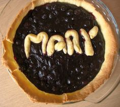 Catholic Cuisine: Blueberry Pie for the Most Holy Name of the Blesse...