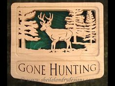 SLDK194 - Self-Framing Gone Hunting Deer