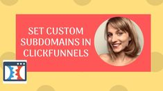 How to create a subdomain in clickfunnels In this video I show you how to create a subdomain in clickfunnels. You can have different subdomains for your diff. Book Recommendations, Simple Way, Marketing, Create, Books, Youtube, Things To Sell, Libros, Book
