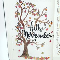 Beautiful November page!