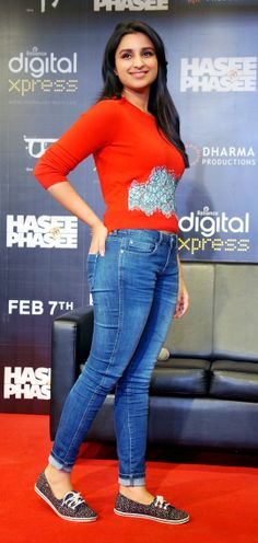 Parineeti Chopra promoting Hasee Toh Phasee. #Style #Bollywood #Fashion #Beauty