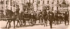 Arrivée du duc de Lichtenberg à Nice pour l'inauguration de la cathédrale St Nicolas