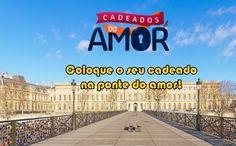 Coloque o seu cadeado do amor na ponte em Paris com a GOL #gol #viagem #dicas #amor