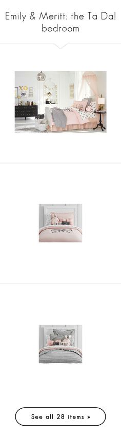 """Emily & Meritt: the Ta Da! bedroom"" by sbhackney ❤ liked on Polyvore"