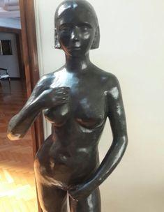 """For sale Bronze  sculpture, """"La Pureza"""" by Lució Fontana . ( Privet Collector )"""