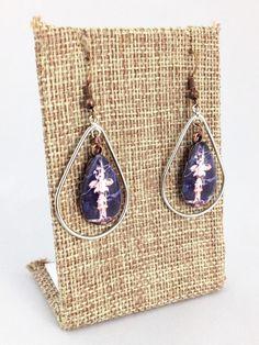 Fleurty Girl - NOLA Colors Teardrop Earrings, Finial, $20