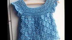 Blusa, polera o remera a crochet muy facil  1 parte
