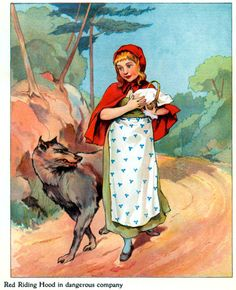 1907 Little Red Riding Hood