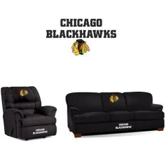 Use this Exclusive coupon code: PINFIVE to receive an additional 5% off the Chicago Blackhawks Microfiber Furniture Set at SportsFansPlus.com