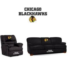 Chicago Blackhawks Microfiber Furniture Set