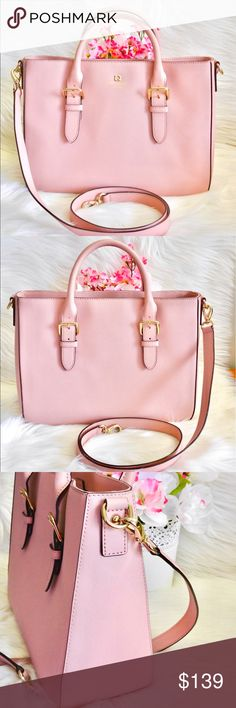 Kate Spade Cove Street Provence Like new condition. Color: Blush Pink Material: Saffiano Leather Dimension: 8.2H x 11.5W x 4.3D Price is firm. kate spade Bags Satchels