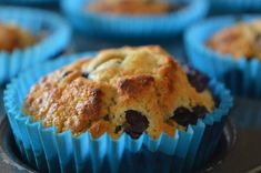 Delicious breakfast blueberry muffin