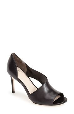 Free shipping and returns on Cole Haan  Viveca  Peep Toe Leather Pump (Women 9c13acb3c479