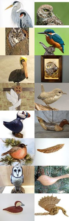 All about birds by Cindy Roth on Etsy--Pinned+with+TreasuryPin.com