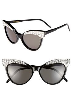 Wildfox 'Le Femme 2' Cat Eye Sunglasses