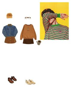 """""""We are all invincible to bullets and it's a miracle"""" by bloss-em ❤ liked on Polyvore featuring Topshop, New Balance, Chicnova Fashion, Dr. Martens and François Pinton"""
