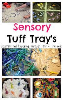 Borrow a Tuff Tray from the Toy Library to try some of these ideas. Sensory Tuff Trays, Tuff Tray ideas, Tuff tray ideas for preschool. Learning and Exploring Through Play. Baby Sensory, Sensory Bins, Sensory Activities, Sensory Play, Preschool Activities, Cornflour Activities, Outdoor Activities, Teach Preschool, Sensory Table
