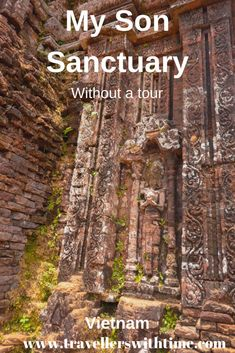 My Son Sanctuary, near Hoi An, Vietnam, is a complex of Ancient Cham Ruins. Once the capital of the Visit Vietnam, Vietnam Travel, My Son Vietnam, Solo Travel, Asia Travel, Brazil Travel, Travel Packing, My Son Hoi An, Vietnam Voyage