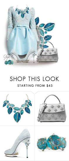 """Coctail Time"" by olga1402 ❤ liked on Polyvore featuring Zuhair Murad, Michael Kors and Ippolita"