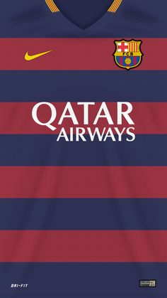 698. Wallpaper: Barcelona 2015/2016 shirts #fcblive [via @arisahmada]