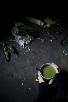 The Freaky Table meets Hortus | A freaky hortusized green soup + A walk in Venice - The Freaky Table
