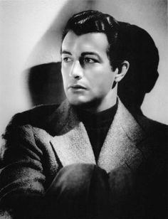Robert Taylor. Photo by George Hurrell, 1937.