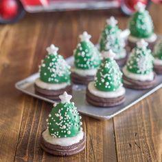 Oreo Christmas Trees