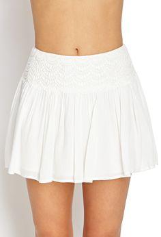 Ethereal Crocheted Skirt | Forever 21 - 2000124404