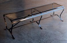 Beautifully proportioned bench available in many sizes.