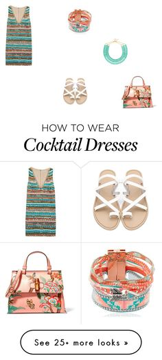 """""""Cocktail party"""" by polyvore-a on Polyvore featuring Alice + Olivia, Hipanema, BaubleBar and Gucci"""