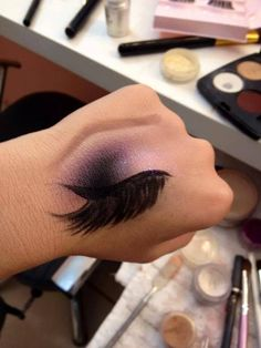 this to go along with makeup artisty. I love the idea of the 3d eyelash too.