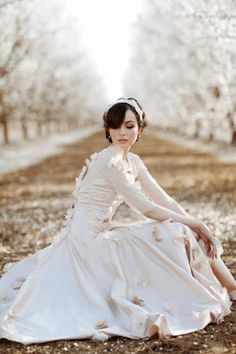 Almond Orchard in Bloom - Fashion | Popbee