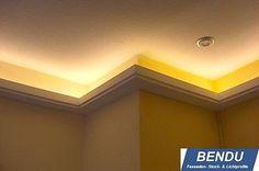 LED Lichtprofil Stuckleiste für indirekte Beleuchtung Stuckleisten Hartschaum