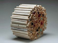 Kreative Kunst aus alten Büchern | KlonBlog